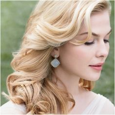 Long, Flowing Locks for Your Big Day