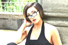Sara Lauri_ luglio 2014_Brunette with glasses