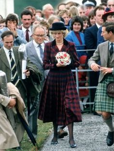 Diana & Charles - Scotland ,le 02 Juillet 1985