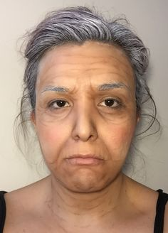 Old Lady [Halloween Makeup 2016]