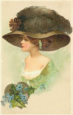 1000+ ideas about Ladies Hats on Pinterest | Victorian Ladies ...