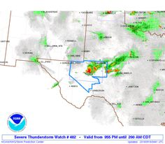 SPC Severe Thunderstorm Watch 482 - http://blog.clairepeetz.com/spc-severe-thunderstorm-watch-482/