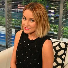 Lauren Conrad officially caught the chopping bug (and can we take a moment to discuss how fab she looks!?)