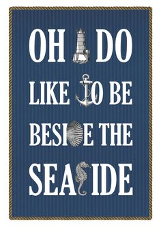 I'd put this in the bathroom.. I want a nautical bathroom. :c