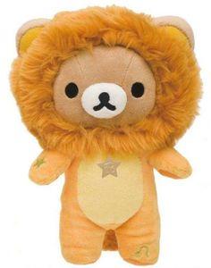 zodiac sign Leo Rilakkuma plush bear San-X