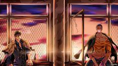 /Kuroko no Basket - Aomine Daiki & Imayoshi Shouichi