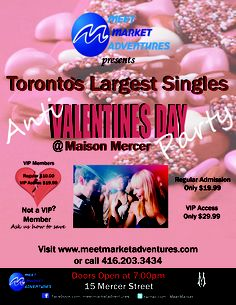 Valentines day speed dating toronto