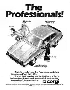 Corgi The Professionals Ad 1980   Flickr - Photo Sharing!