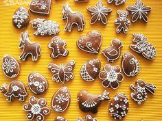 velikonoční perníčky zdobení - Hledat Googlem Gingerbread Cookies, Sugar Cookies, Food And Drink, Easter, Carpe Diem, Desserts, Egg, Target, Fish