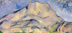 Paul Cézanne – La montagne Sainte-Victoire (détail), 1900, Hermitage Museum, Saint-Pétersburg http://silartetaitconte.hautetfort.com/archive/2013/09/13/la-montagne-sainte-victoire-cezanne-paul-5164487.html