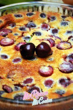 Mi Rincón, Mi Cocina - Repostería Creativa y Tradicional, Salados - Recetas de cocina: Clafoutis de Cerezas | Cherry Clafoutis
