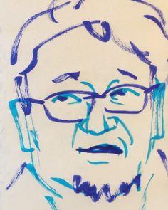 いいね!16件、コメント1件 ― @1mindrawのInstagramアカウント: 「#1mindraw #一分描画 #higuchishinji #樋口真嗣 #moviedirector #映画監督 #attackontitan #進撃の巨人 #shingodzilla…」