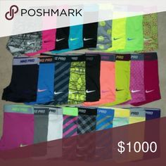 *ISO* Nike Pros XS/S Please help me find Nike Pros! I like almost every color. Bundles are even better! If you have some please comment! Preferably XS/S. Shorts