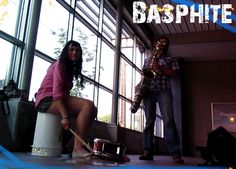 Brasspunk gypsy rock duo