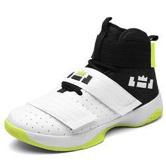 113b4ec297a7 Boys Basketball Shoes Men High Top Mens Sneakers Shoes Anti-Slip Women  Sport Shoes Damping