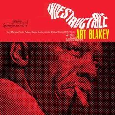 "Art Blakey recorded his final Blue Note album ""Indestructible"" 50 years ago today with Lee Morgan rejoining the Jazz Messengers alongside Wayne Shorter, Curtis Fuller, Cedar Walton & Reggie Workman. Find it & more at http://iTunes.com/BlueNote"