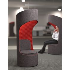 Create visual and acoustic private spaces within open environments with KI® Connection Zone Privacy Booths.