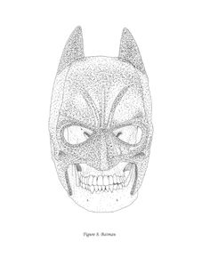 Items similar to Figure Batman on Etsy Vintage Illustrations, Illustrations Posters, Human After All, Nerdy, Batman, Skull, Superhero, Fictional Characters, Art