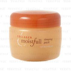 Moistfull Collagen Sleeping Pack from #YesStyle <3 Etude House YesStyle.co.uk