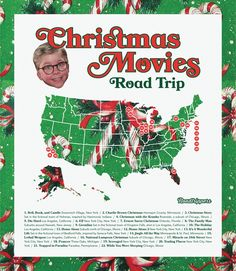 The ultimate holiday movie road trip! Best-kept secrets and coolest locations of your favorite xmas movies - - Christmas With The Kranks, A Christmas Story, Christmas Movies, Holiday Movies, Christmas Games, Family Friendly Holidays, Becoming A Father, Secret Location, Best Kept Secret