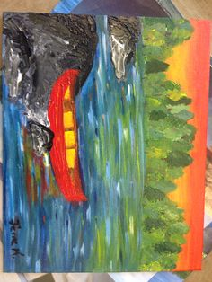 Thomason's bateaux Projects, Painting, Art, Boats, Craft Art, Paintings, Kunst, Gcse Art, Draw
