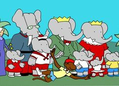 Babar the Elephant was a favorite childhood series Retro Kids, 90s Kids, Old Cartoons, Classic Cartoons, Childhood Characters, Childhood Memories, Kids Tv Shows, Sweet Memories, Old Toys