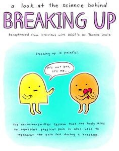A Look At The Brain Science Behind Breaking Up