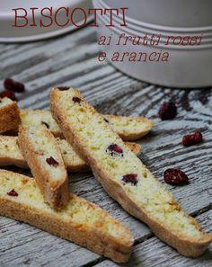 #biscotti ai frutti rossi e arancia#
