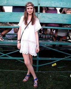 Coachella // Vintage Dress    elle.com