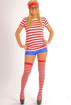 where's waldo halloween girl - Google Search