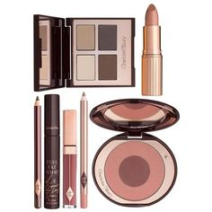 Charlotte Tilbury The Sophisticate Gift Set (340 CAD) ❤ liked on Polyvore featuring beauty products, gift sets & kits, makeup and beauty