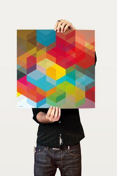 More color and geometry love. Here: http://www.behance.net/Gallery/CUBEN-2010/436132 (can't find where to buy).
