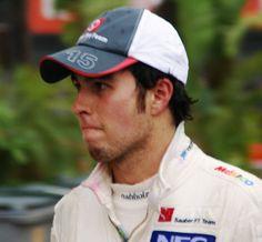 """Sergio """"Checo"""" Perez. Formula One Driver."""