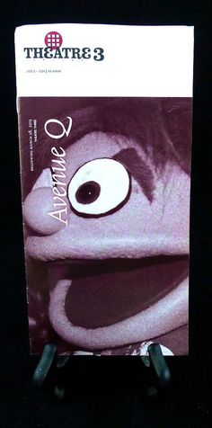 Avenue Q  Dallas Theatre 3 Playbill  Trekkie Princeton Lucy Nicky Puppets