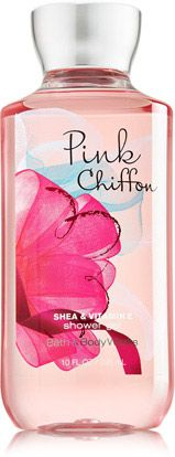 Pink Chiffon Shower Gel - Signature Collection - Bath & Body Works