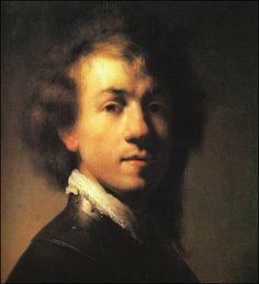 Rembrandt Van Rijn as a young man