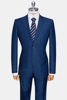 Тёмно-синий мужской костюм TRAVEL