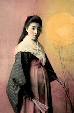 LONG HAIRED AND PREGNANT -- Mixing Elements of Seasonal Fashion in Japan by Okinawa Soba, via Flickr