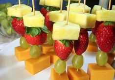 A healthy snack or appetizer that's a crowd favorite for any occassion!