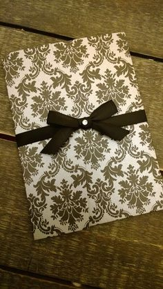 Classic Black White and Grey Damask Wedding by SCharmCelebrations, $2.49