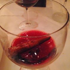 Rolph's German Restaurant Wins Christmas - Mulled Wine - Cinnamon Stick