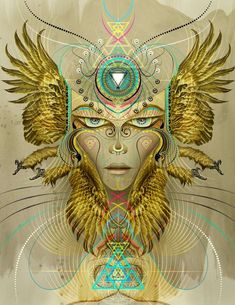 psychedelic digital art - This gorgeous collection of psychedelic digital art is by Boston, Massachusetts-based artist Chris Saunder. Chris has been a teacher at Art Center ...