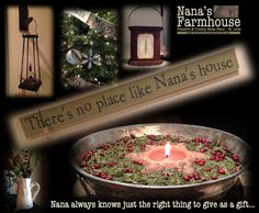 Nana's Farmhouse We specialize hand-mades, one-of-a-kind finds mixed with reproductions, metals with wood & the most beautiful country & vintage merchandise Primitive Country Homes, Country Kitchen Farmhouse, Farmhouse Style, Vintage Country, Country Decor, Country Curtains, Home Decor Store, Website Link, Primitives