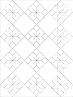 Lemoyne Star Quilt Pattern