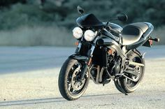 My beautiful old Triumph Speed Four... god I miss that bike.