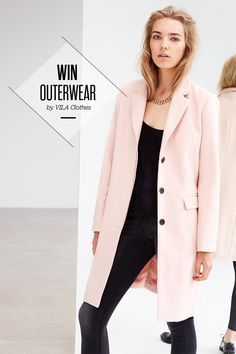 Make sure you're ready for autumn! Win gorgeous VILA outerwear from the new collection, right now on Facebook. Good luck!
