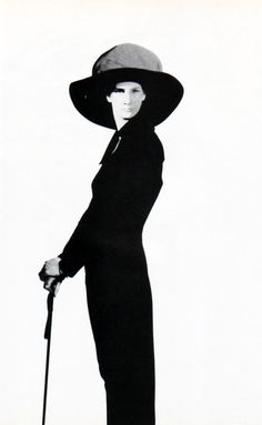 Yohji Yamamoto, American Vogue, September 1985.