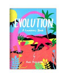 Annu Kilpeläinen: Evolution colouring book