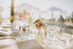 pink and BABY'S BREATH | styling styleanddiscourse.com | photography timcoulson.com