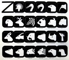 Lance Wyman for the National Zoo in Washington D.C.